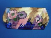 Lovely H & K Tunstall 'Anemone' Sandwich Tray by R. Grocott c1939 (Sold)